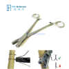 Wire Twister with Cutter Cuts wire up to 18g Twisted Double Veterinary Orthopedic Instrument
