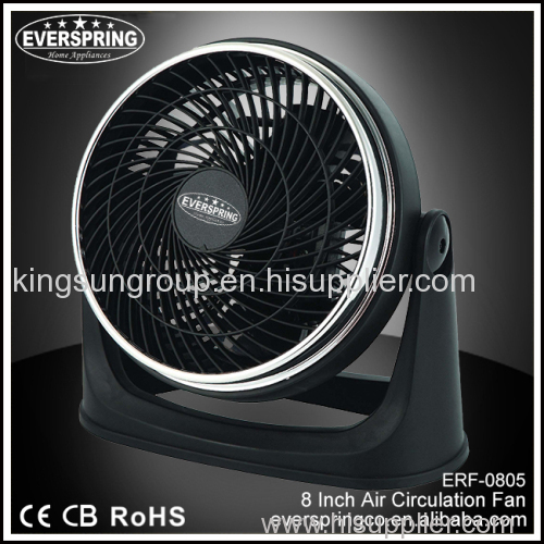 8 Inch electric desk fan with oscillation