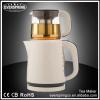 1.7L Plastic tea maker electric Kettle with1.0L Glass Pot