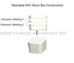 SMALLER NON WASHABLE PULL STRING MUSIC BOX