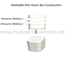 Waterproof Pull String Music Box Parts Structure