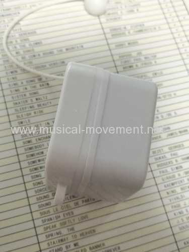 ULTRASONIC WELDING PULL STRING MUSICAL BOX