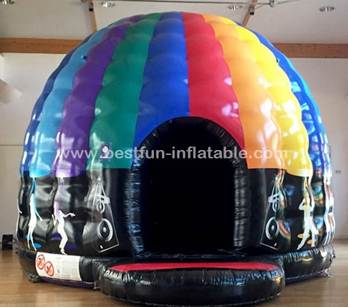 Disco Dome bouncy castle disco inflatable house