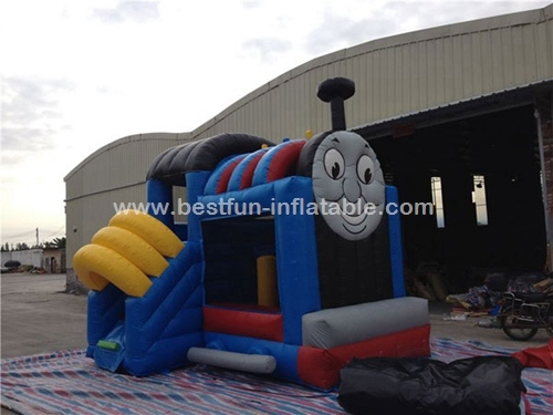 Inflatable Cartoon Thomas Bouncer train bounce house