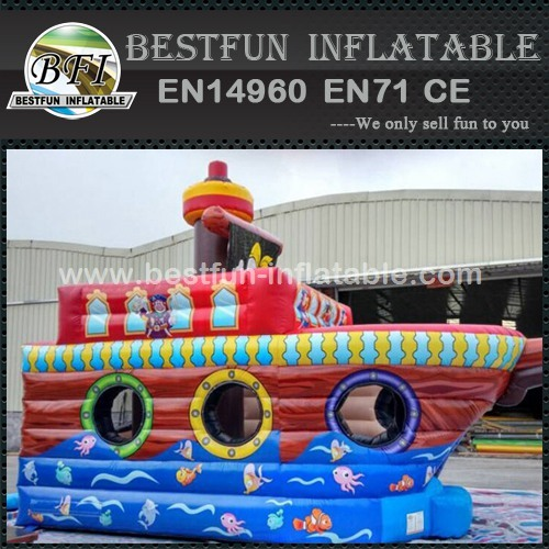 Inflatable Pirate Bouncer Ship Boat
