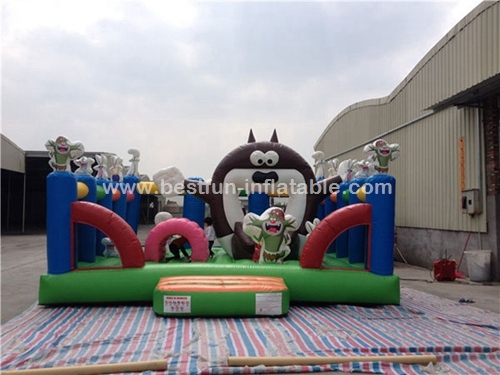Inflatable Totoro Cartoon Funcity Park for Kids