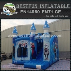 Commercial frozen combo inflatable jumping castle