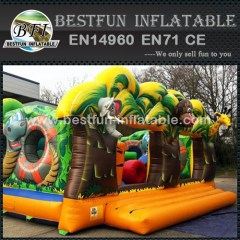 Cute Animal Jungle Inflatable Party Bouncer