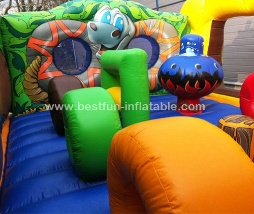 Jungle style high quality giant Inflatable bouncer