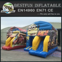 New Minions bon marché gonflable saut Bouncy Castle videur gonflable