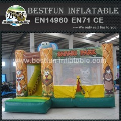 Inflatable jungle Safari park bouncer house