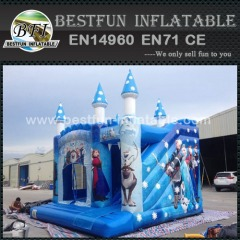 Frozen inflatable princess bouncy castle combo