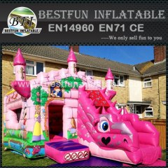 Princess Dragon inflatable jumping bouncer