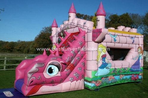 Princess dragon Fairytale Bounce and Slide