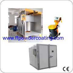 Elektrostatische poedercoating systeem