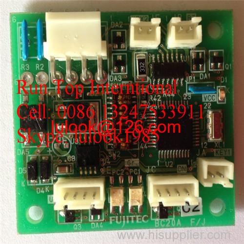 Fujtec elevator parts push button PCB BC20A