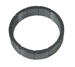 Forte potere Rare Earth neodimio segmento di arco magnete per il motore