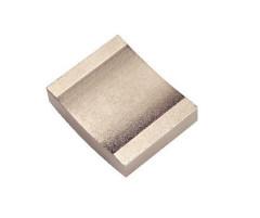ニッケルコーティングN48ネオジム磁石付きセグメントタイルアークマグネット焼結ネオジム