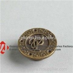 Bulk Wholesale Metal Button