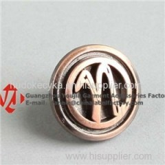 Round Custom Metal Button