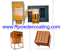 Multi-cycloon Powder Coating Recovery System