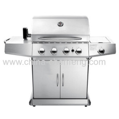 deluxe gas bbq grill