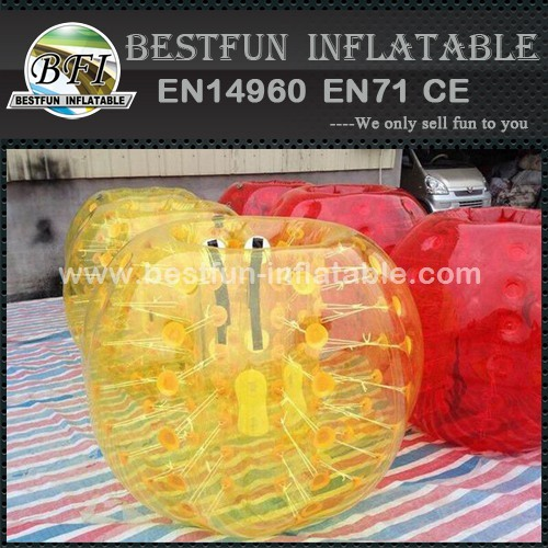 Inflatable Bumper Human Sized Soccer Bubble Ball