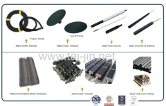 mmo disc anode coated Ruthenium use in marine corrosion resistent