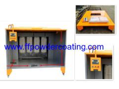 Cabina elettrostatica di vernice a polveri