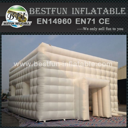 Outdoor Giant inflatable cube tent for wedding