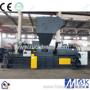 Waste paper baler features