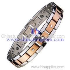 Tungsten Gold Wrist Chain