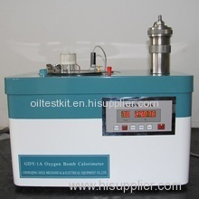 Bomb Calorimetry Diesel Oil and Fuel Oils Heat Value Tester