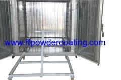 rivestimento elettrico della polvere sistema a microonde