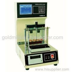 2016GOLD Automatic 4 sample pc port Asphalt softening point tester
