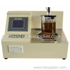 2016 GOLD Automatic 2sample pc port Asphalt softening point tester