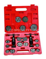 18pcs Disc Brake Pad en de remklauw Service Tool Kit