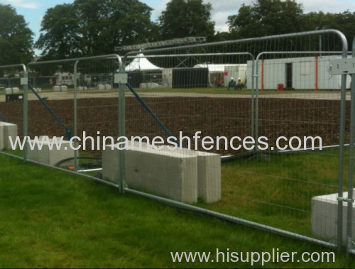 Heavy Duty round top Full frame Fence