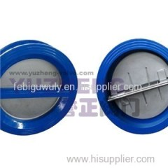 Double Disk Swing Check Valve