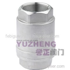 H12W-16P/R Stainless Steel Vertical Type Check Valve
