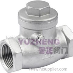 H14 Screwed Swing Check Valve