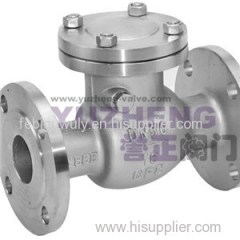 GB Flanged Swing Check Valve(PN1.6&PN2.5)