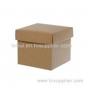 scatola di carta di colore su misura mini ondulato Posy Box