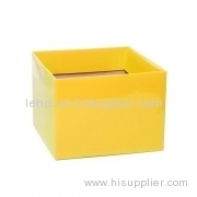 Flap customized color paper box