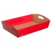 Hamper Tray Flat Pack for food pack paper box gift packaging large hamper tay cardbaord