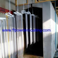 Linea di rivestimento della polvere di protezione del ventilatore