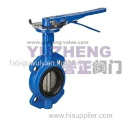 Butterfly Valve With Gear Handle