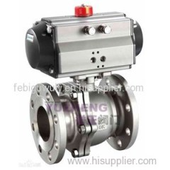 JIS 2PC Pneumatic Ball Valve