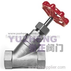 Y-type Thread Globe Valve