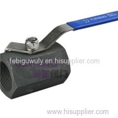 Hex-Ball Valve Carbon Steel 2000WOG